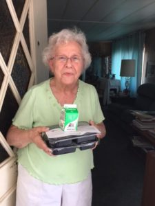 Meals on Wheels client